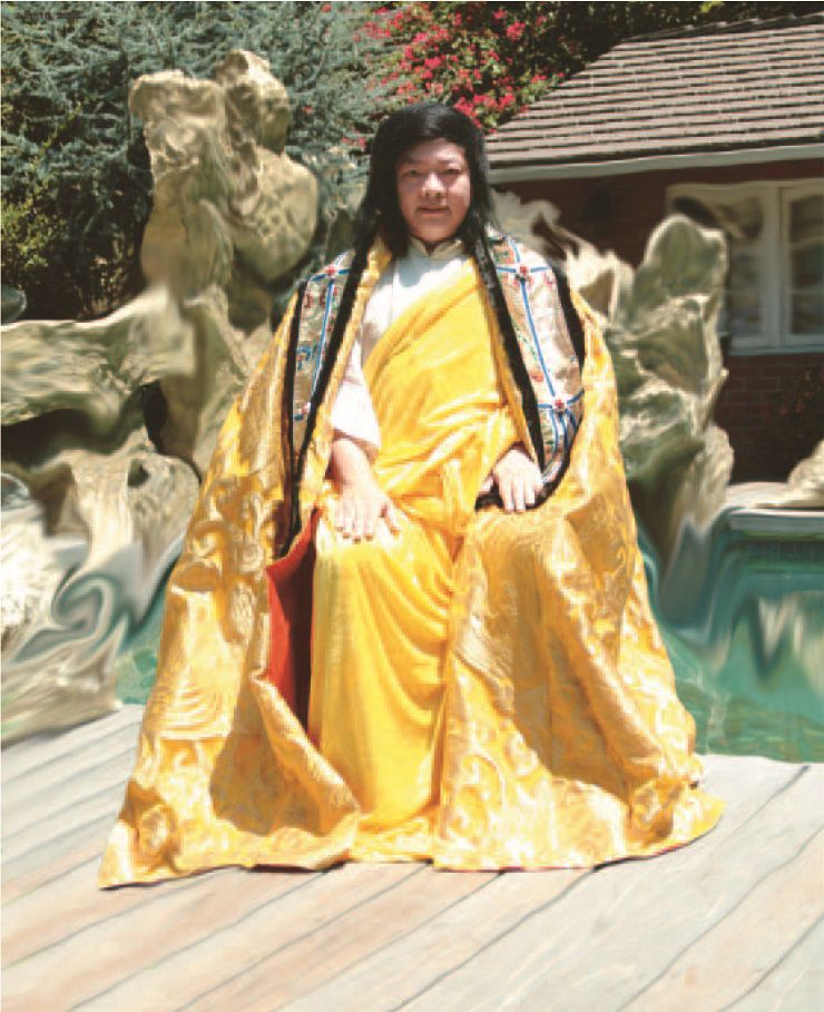《多杰羌佛第三世》-頂聖如來多杰羌佛第三世雲高益西諾布 對被認證為古佛的看法(138頁)