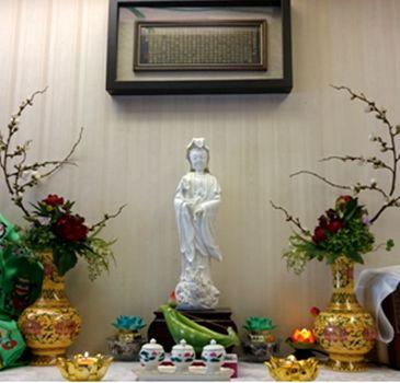 佛教正法中心-觀音聖像顯祥瑞(德吉白珍)