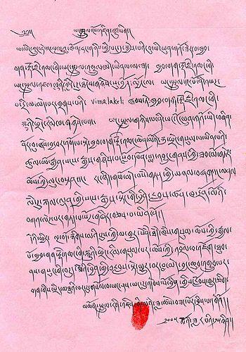《多杰羌佛第三世》-雄獅法王仁增尼瑪仁波且認證三世多杰羌佛 (114-115頁)