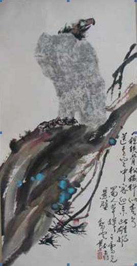 義雲高(第三世多杰羌佛)兩幅畫作義賣賑災