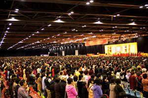2014年3月25日 第三世多杰羌佛大法會暨《藉心經說真諦》首發式法會殊勝無比(相關新聞彙整)