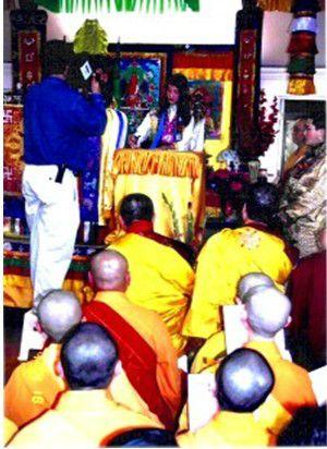 佛法奇蹟 西藏轉世再來人-金巴仁波且