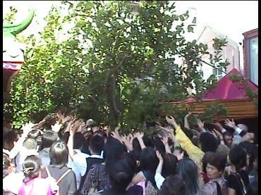 佛菩薩以甘露和連珠炮雷恭迎多杰羌佛第三世寶書(實況影視)