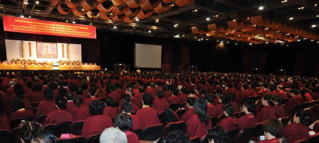 國際佛教僧尼總會 2011 年弘法利生記功表彰大會暨香港第三屆阿闍黎及聞法上師授稱典禮