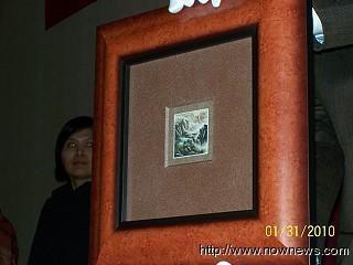 「山泉古寨」拍賣  打破中國畫行情價中的最高紀錄