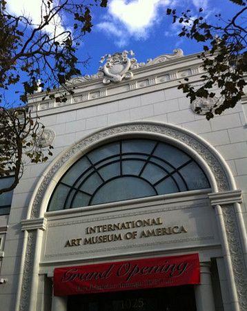 珍藏 第三世多杰羌佛藝術作品的美國國際藝術館開幕(影視)