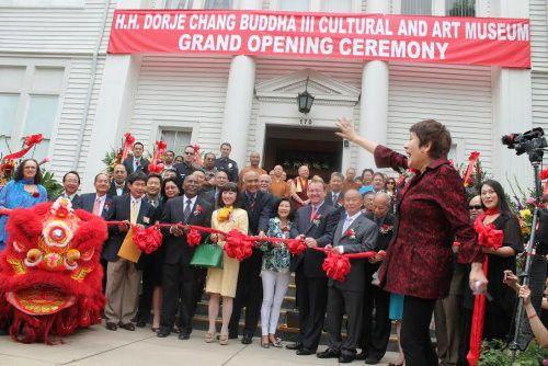 第三世多杰羌佛文化藝術館開幕相關媒體報導