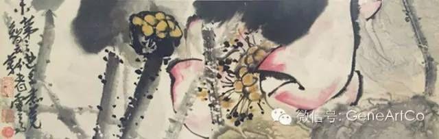 H.H.第三世多杰羌佛中國畫作品:高潔圖