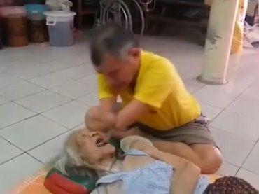 即使失去雙手,也要好好照顧媽媽!