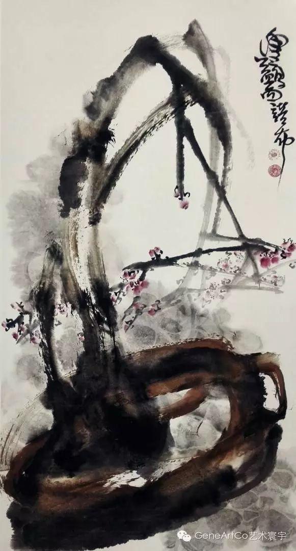 H.H.第三世多杰羌佛中國畫作品:格高境大