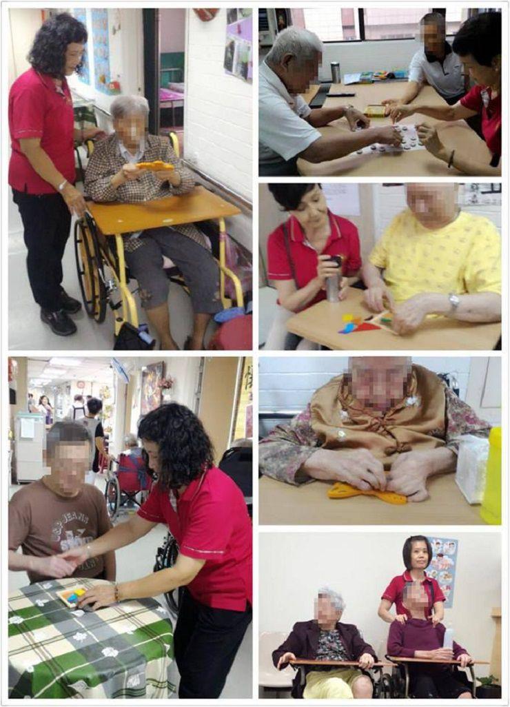 運頓多吉白菩提會台北佛堂vs.台北市私立仁家老人長期照顧中心關懷陪伴老人活動