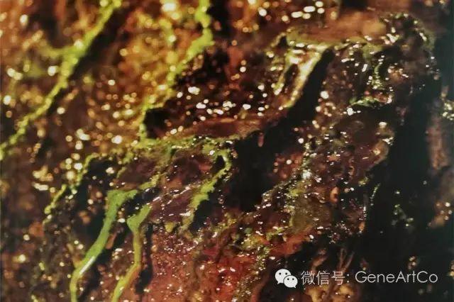 H.H.第三世多杰羌佛韻雕作品:綠色的組合
