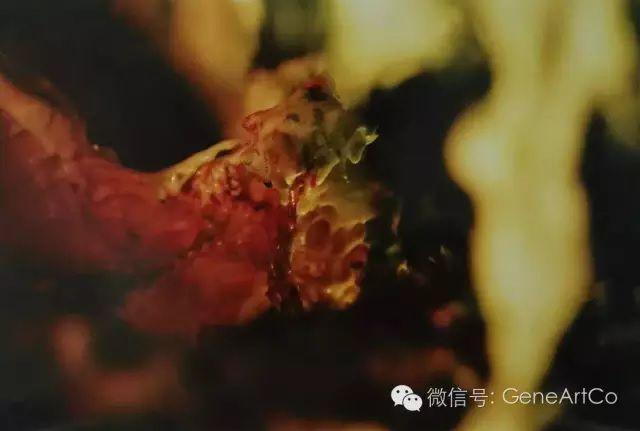 H.H.第三世多杰羌佛韻雕作品:螳螂的內部器官