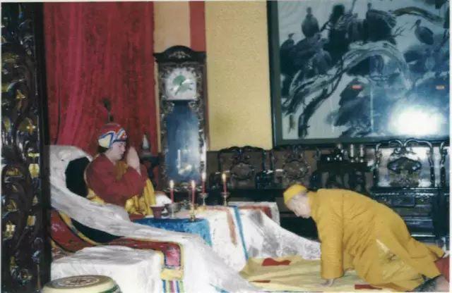 一代聖僧-清定法師拜南無第三世多杰羌佛為師,珍貴視頻塵封20多年後被公開