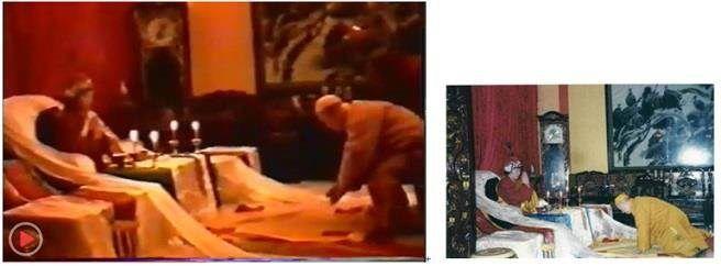 中時電子報「H.H.第三世多杰羌佛系列報導」始祖報身佛多杰羌佛真身降世 清定法師拜師