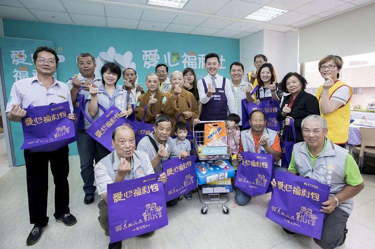 佛教正心會2017年6月19日參加新竹市政府實物銀行開幕 共同幫助弱勢家庭