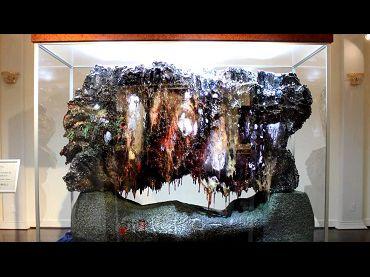 [第三世多杰羌佛文化藝術館]絕世珍寶「一石橫嬌」吸引上千人潮參觀