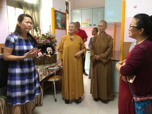 覺行佛教協會秋節關懷身心障機構