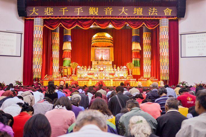 運頓多吉白菩提會-分享參加大悲千手觀音大壇法會的覺受(林素女)