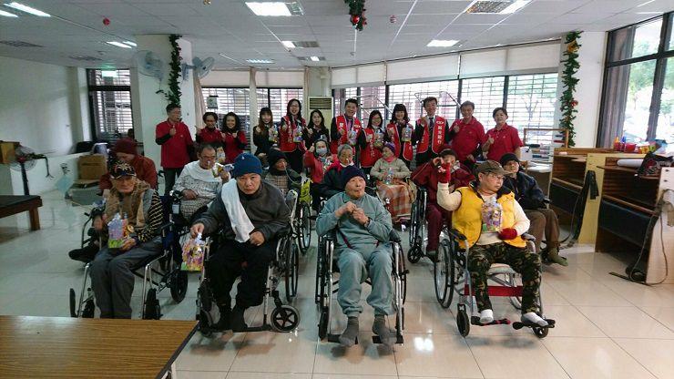 運頓多吉白菩提會2017年12月18日福祿貝老人養護中心帶領念佛聞法共修