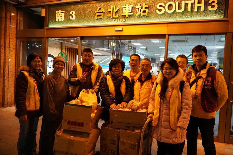 中華西密佛教正心會2017年12月20日歲末夜訪寒士――義工感想