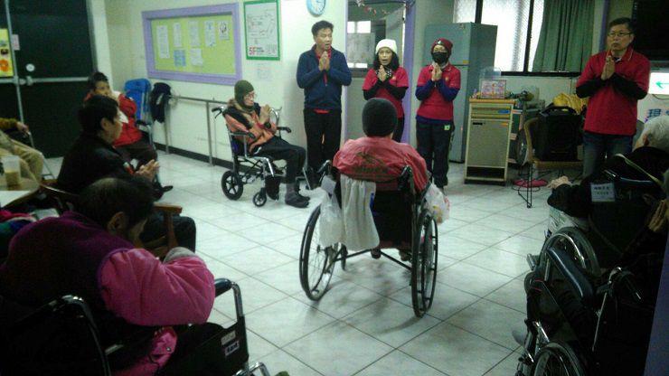 運頓多吉白菩提會2018年2月5日 福祿貝老人養護中心帶領念佛聞法共修