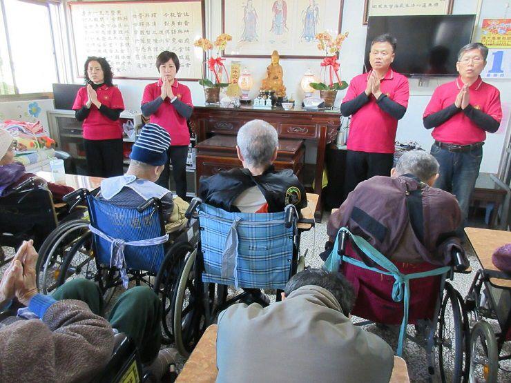 運頓多吉白菩提會2018年3月1~2日老人養護中心帶領念佛聞法共修