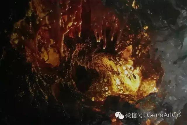 H.H.第三世多杰羌佛韻雕作品:優雅的紅色溫暖