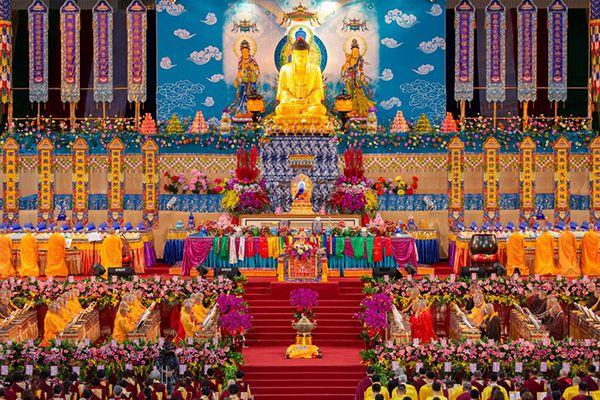 中華國際佛教聞修正法會-佛法加持力量大,真是不可思議!(丹增德勒)