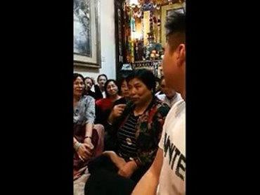 中華國際佛教聞修正法會-「藥師如來佛誕消災祈福大法會」受用分享-喉嚨腫瘤患者獲痊癒