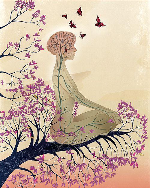 [科學人雜誌]大腦靜定 冥想的科學
