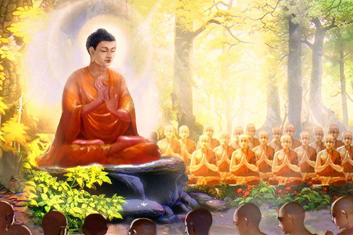 佛教故事:兔王捨身供養梵志
