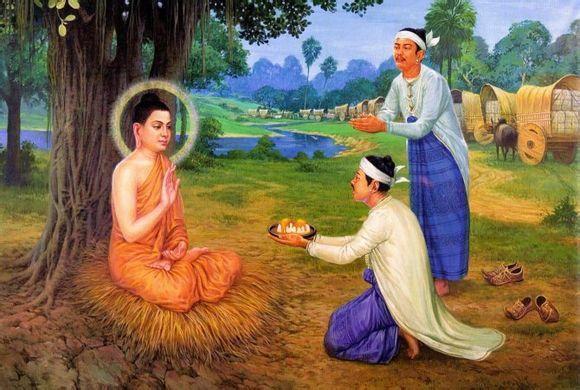 佛教故事:農夫供佛 土地變金[清淨心供佛功德]