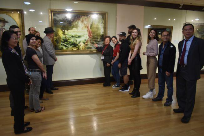 紐約藝院師生 來舊金山美國國際藝術館臨摹(相關新聞彙整)