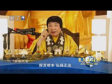 [中國國際教育電視台]探其根本 弘揚正法