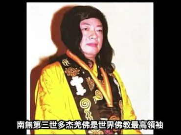 南無第三世多杰羌佛是經合法認證的世界佛教最高領袖!(影視)