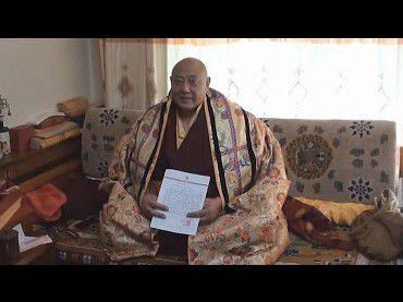 國際佛教僧尼總會聲明字第201201號(2012年7月15日)-公保都穆曲吉法王確認敬賀南無第三世多杰羌佛