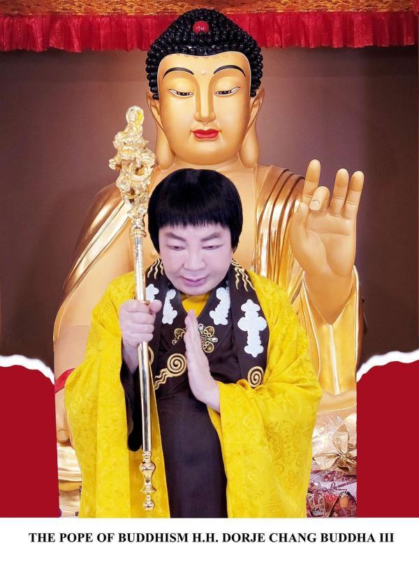 華藏學佛苑-自稱佛菩薩化身的外道天魔,能如H.H.第三世多杰羌佛(認證為佛陀前尊稱義雲高大師)把三十二大丈夫相展顯在娑婆世界嗎?