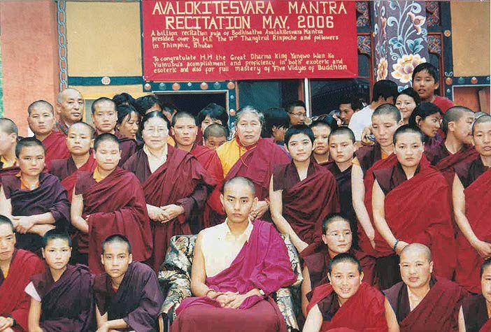 西藏醫藥、渡船、橋樑、戲劇之父:唐東迦波法王敬賀第三世多杰羌佛