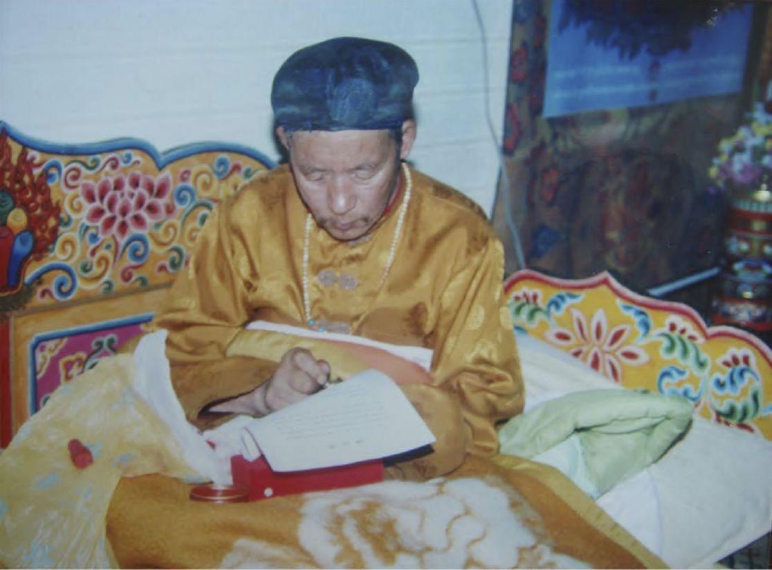 寧瑪巴大伏藏師:鄔堅喜饒仁波且確認敬賀第三世多杰羌佛